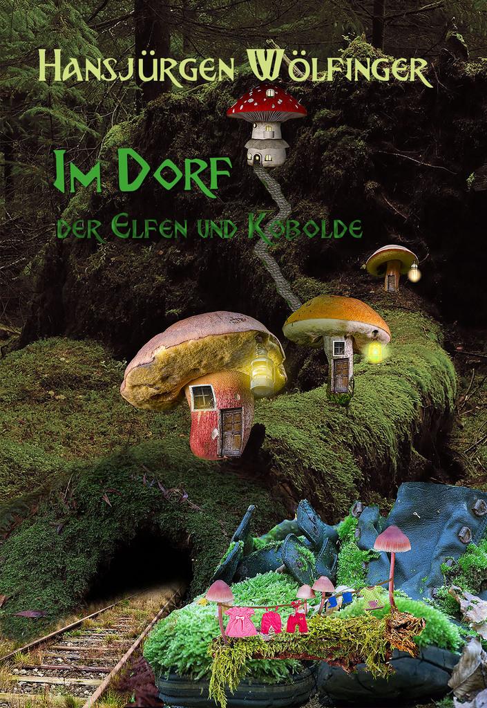 Book Cover: Im Dorf der Elfen und Kobolde (Hardcover)